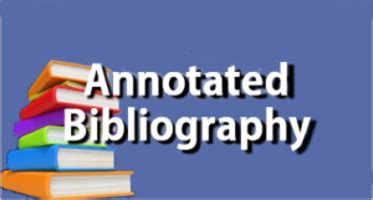 How to write an annotated bibliography entry